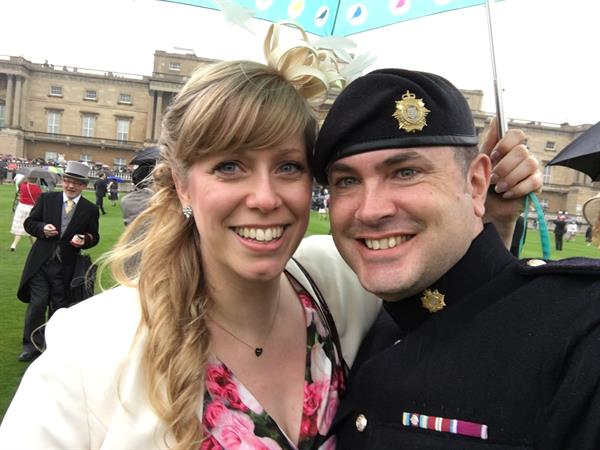 Soldier who survived brain tumour now fighting to find cure