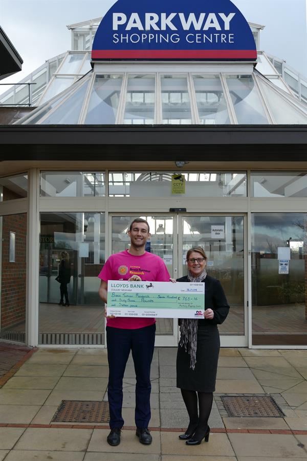 Parkway Shopping Centre kicks off 2019 with charitable donation