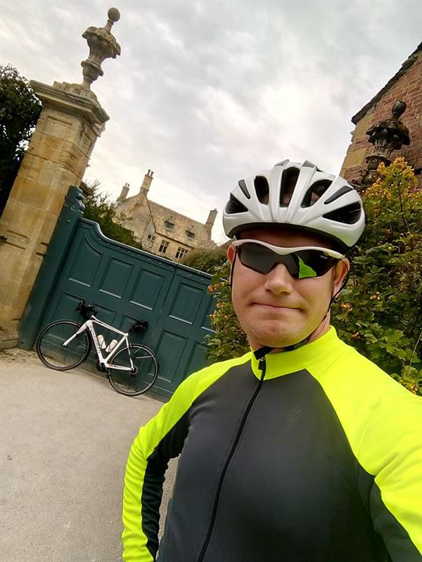 Heart-breaking loss inspires dad's cycling challenge