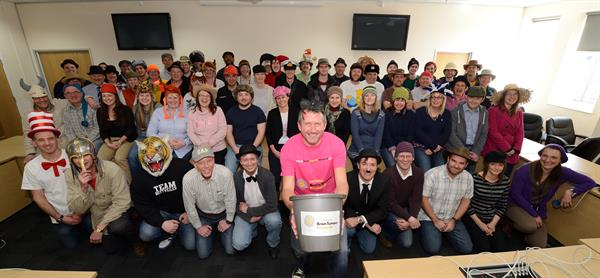 Hat fever sweeps Portsmouth in readiness for Wear A Hat Day